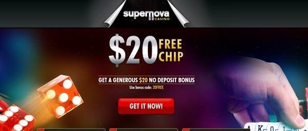 super nova casino bonus