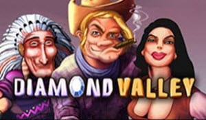 diamond valley slot logo