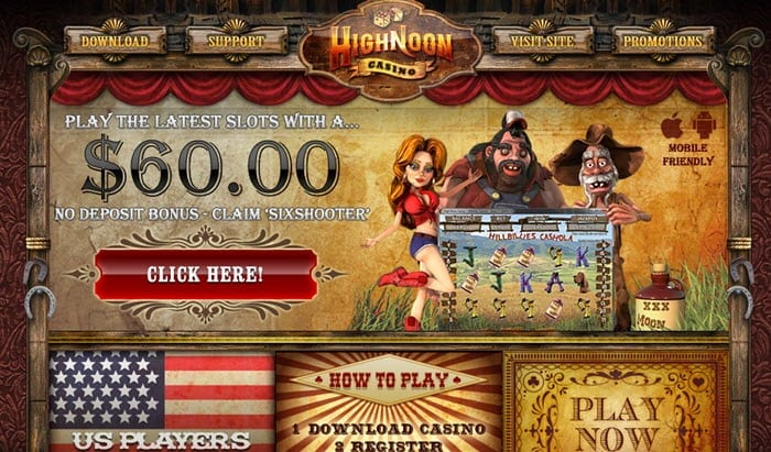 High noon casino free bonus codes