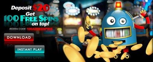 sloto'cash no deposit bonus