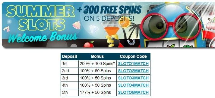 sloto'cash bonus no deposit