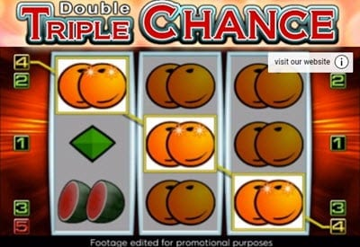 Slots double triple