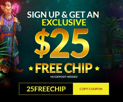 Planet 7 Casino 25 Free Chips