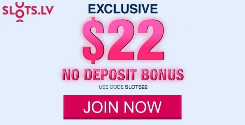 Slots Lv Casino No Deposit Bonus