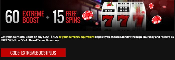 Casino Extreme Sign up Bonus