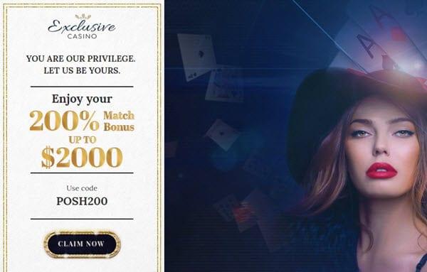 Exclusive casino online