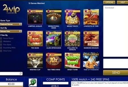 24 Vip Casino No Deposit Bonus Codes 2020 25 Free