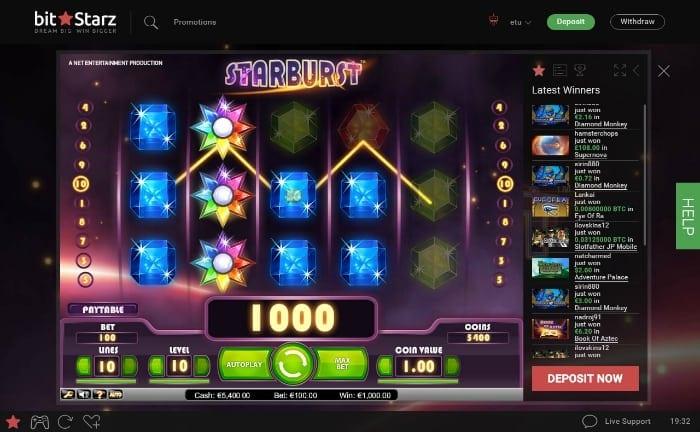 BizStarz casino