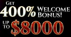 Bovegas Bonus $8000