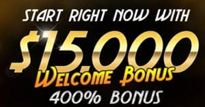 Golden Lion Casino Bonus $15000