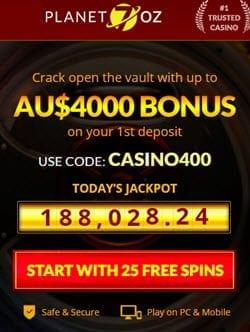 Planet7oz Casino