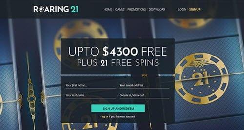 Roaring21casino