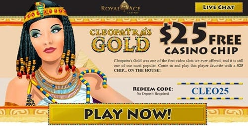 Royal Ace Casino $25 No Deposit