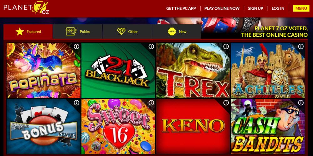 Planet 7 OZ Casino
