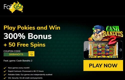 Fair Go Casino 50 Free Spins
