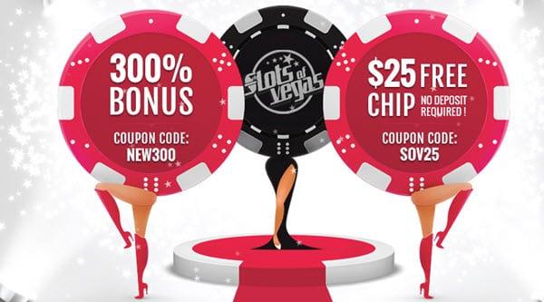 Slots Of Vegas Casino Get 25 No Deposit Bonus Casino On Line Com