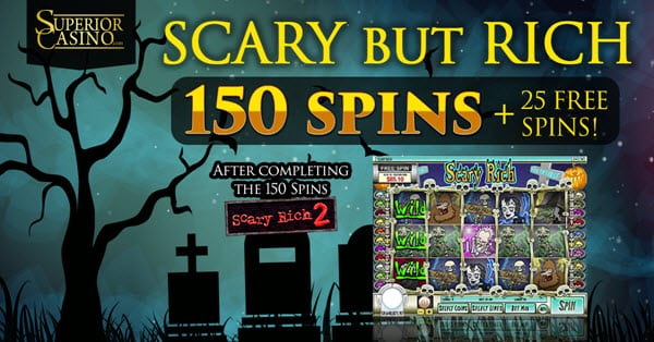 Superior Casino Halloween Promotion 2018