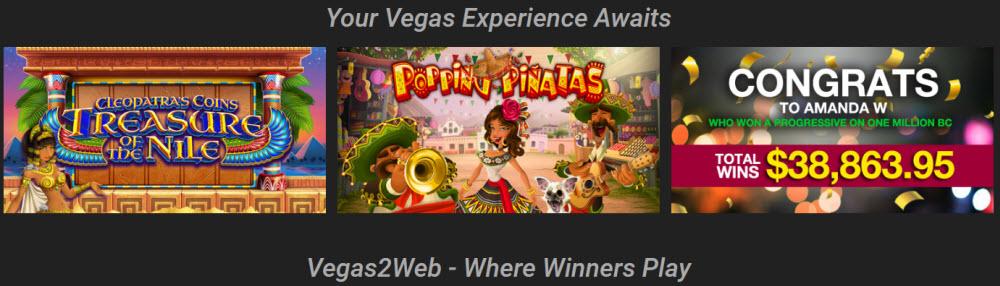 Vegas 2 Web Slots