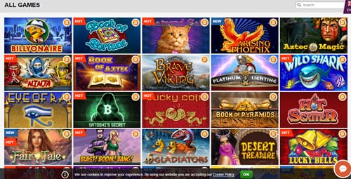 Playamo casino game