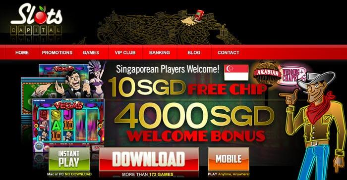 Slots - Online Casino Singapore