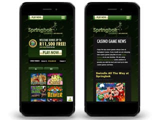 Springbok Casino mobile