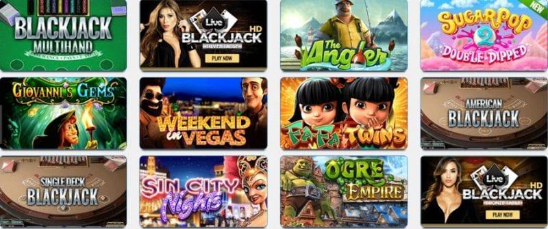 Big Spin Casino Games