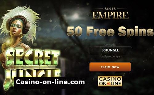 Slots empire no deposit bonus codes 2019