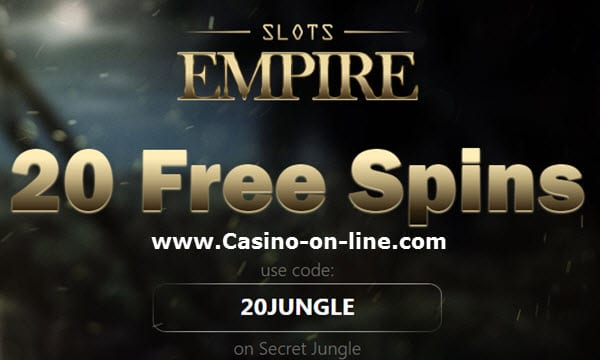 Slots Empire Casino No Deposit Bonus Codes 2020 20 Free Spins