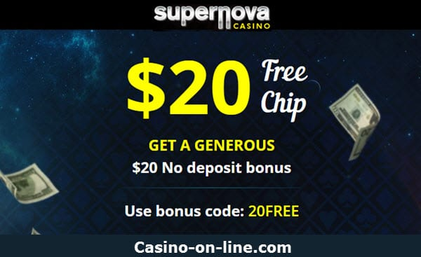 Supernova casino no deposit bonus