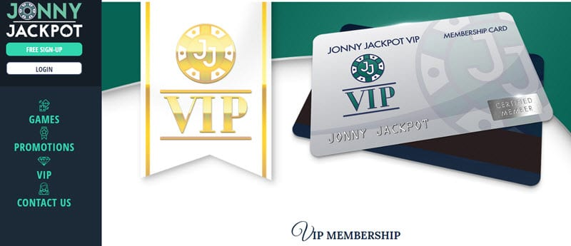 Jonny Jackpot Casino Vip Club