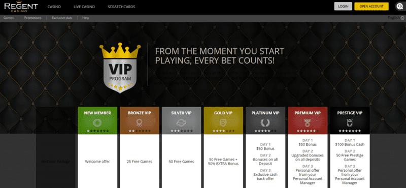Regent Casino Vip