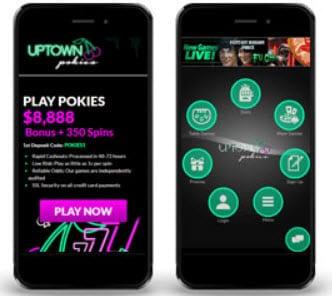 Uptown Pokies Mobile
