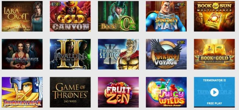 NordiCasino Games Slots