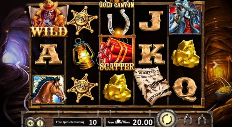 Gold Canyon Slot