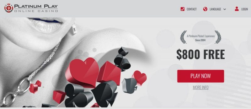 PlatinumPlay Casino Canada