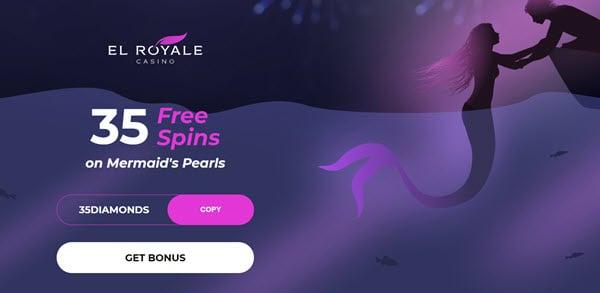 Mermaids Pearl Slot (35 Free Spins)