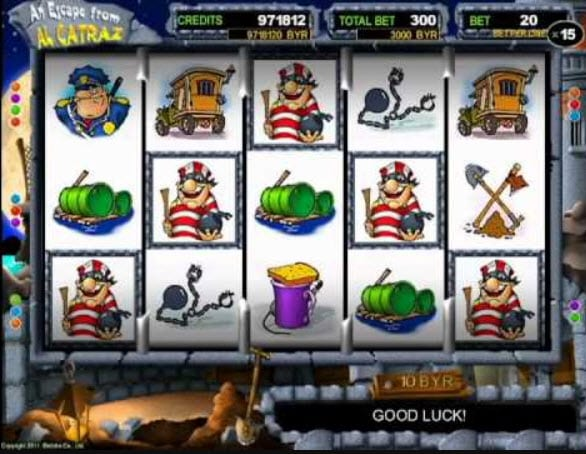 Escape from Alcatraz Slots