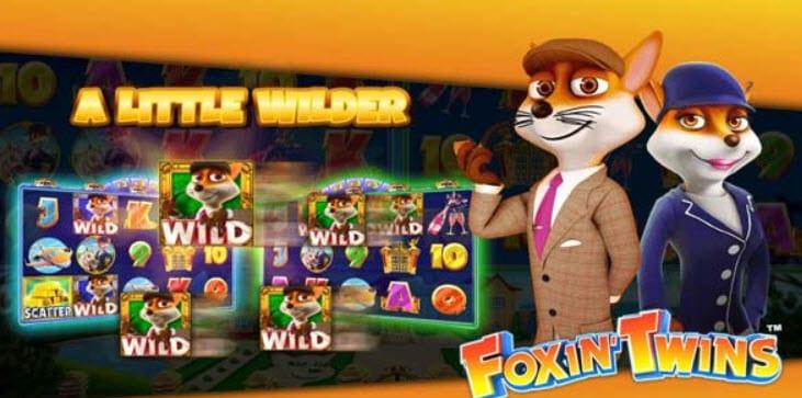 Foxin' Twins Slot Machine