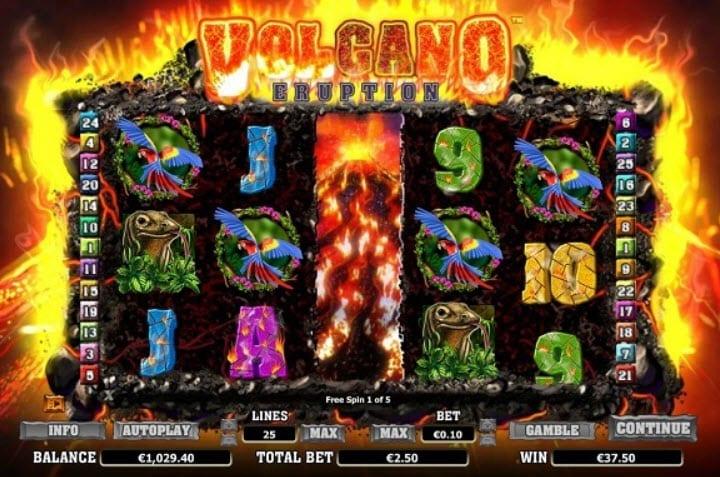 Volcano Eruption Slot