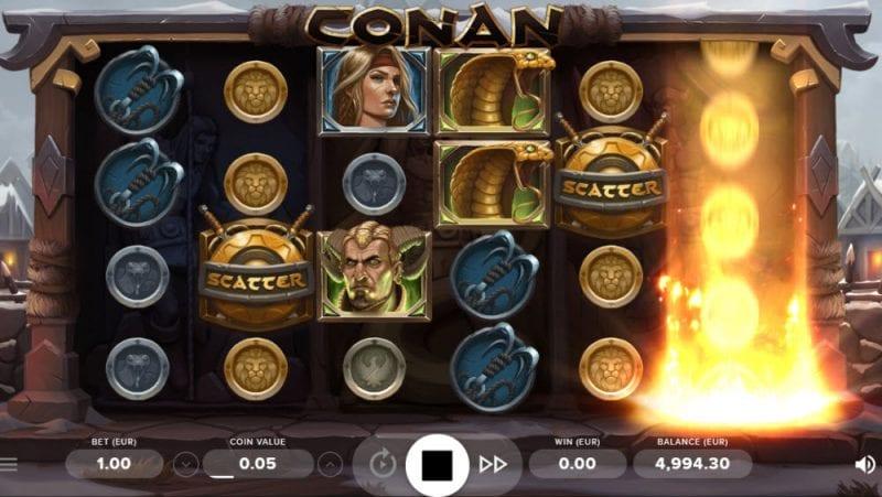 Conan Slot NetEnt