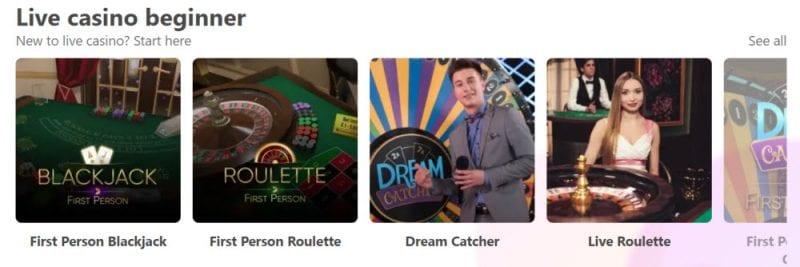 Dreamz Casino Live