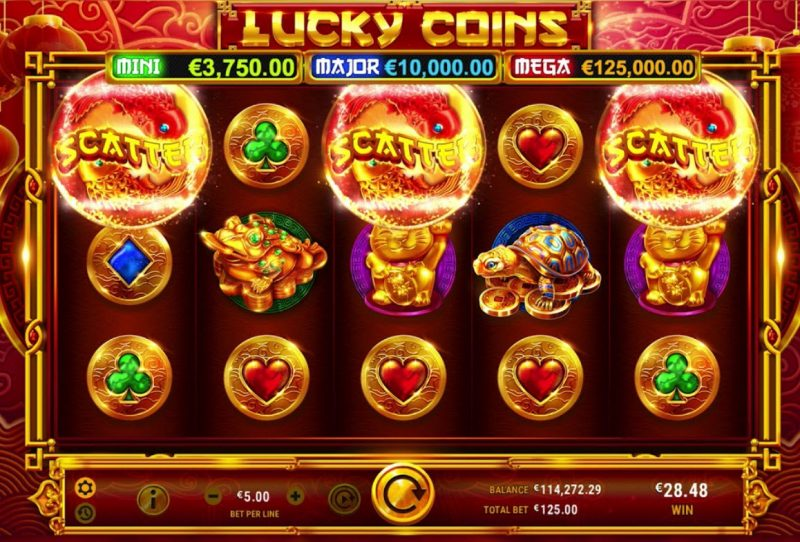 lucky coin slot