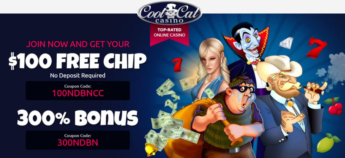 coolcat casino 100 Free Chips