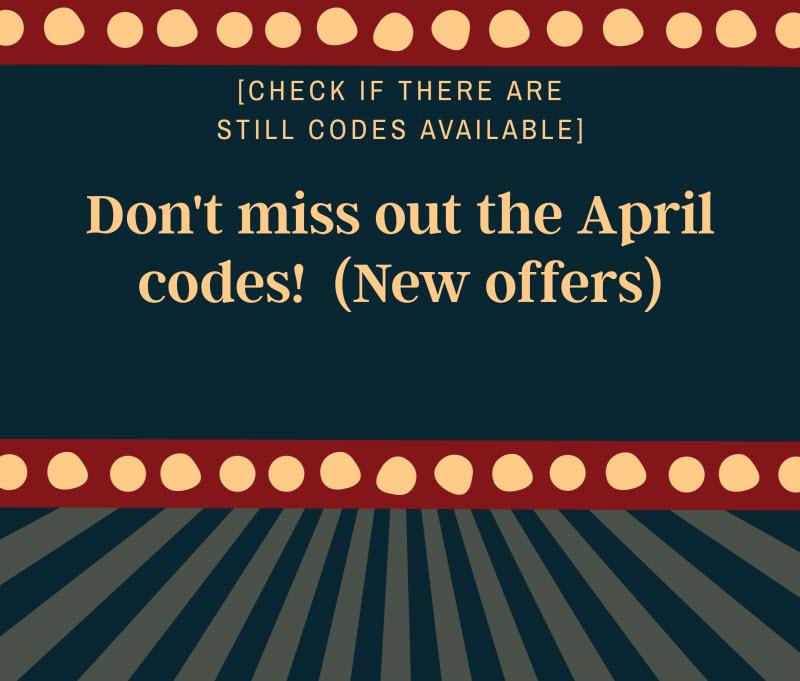 no deposit bonus April