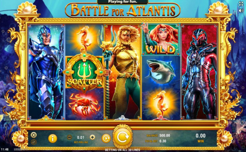 Battle of Atlantis slot