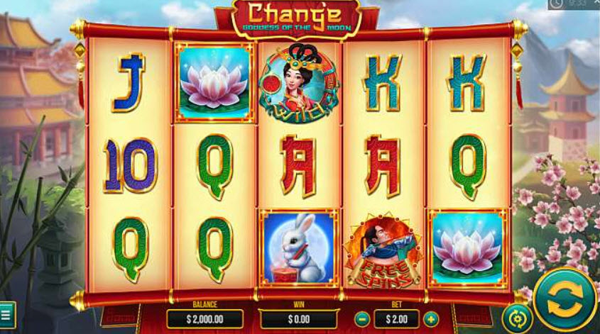 Chang'e Goddess of the Moon Slots