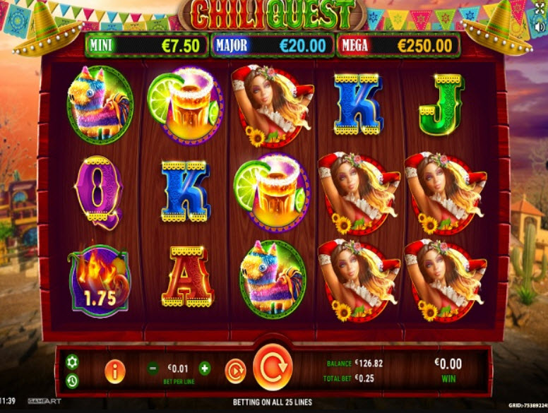 Chili Quest Slot
