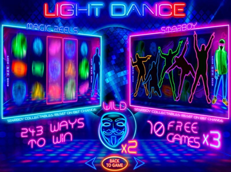 Light Dance Slot Machine