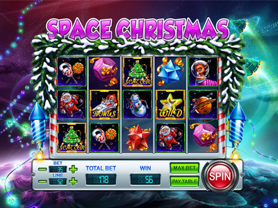 SPACE CHRISTMAS SLOT