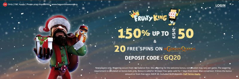 Fruityking Casino No Deposit Bonus Codes 20 Free Spins Here
